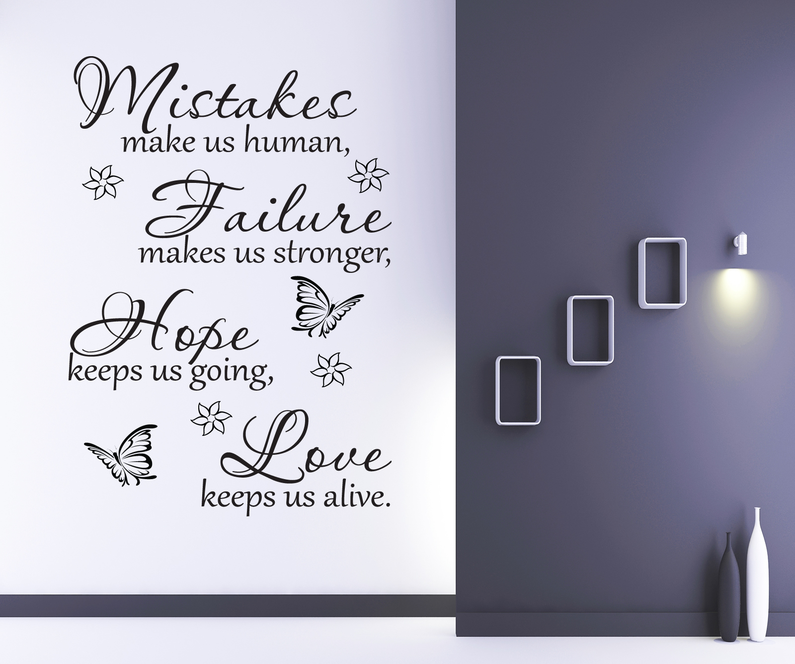 HEALTHY WEALTHY AND WISE WALL STICKER QUOTE BEDROOM HOME WALL ART DECAL X235